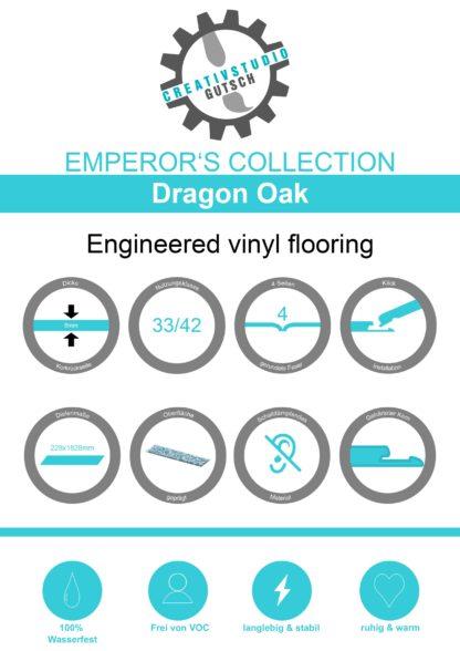 Dragon Oak Label