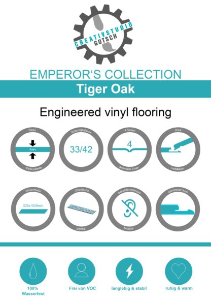 Tiger Oak Label