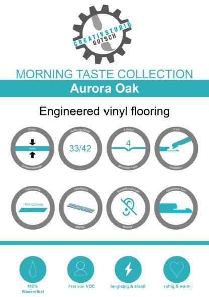 Aurora Oak Label