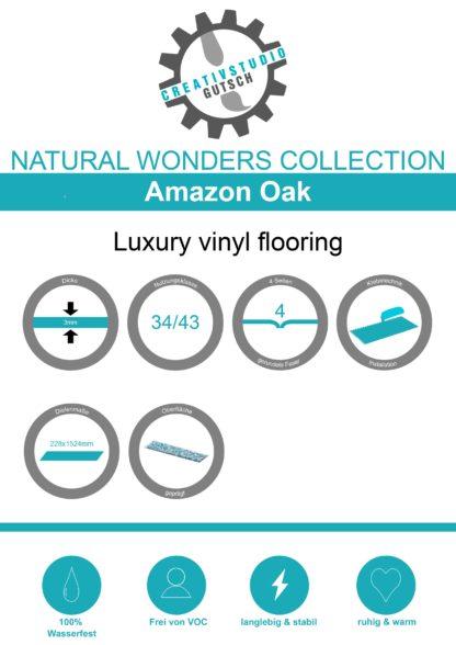 Amazon Oak Label