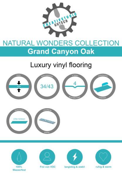Grand Canyon Oak Label