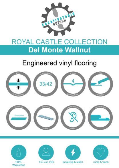 Del Monte Wallnut Label