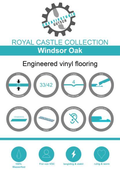 Windsor Oak Label