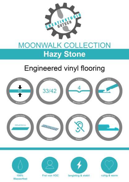 Hazy Stone Label
