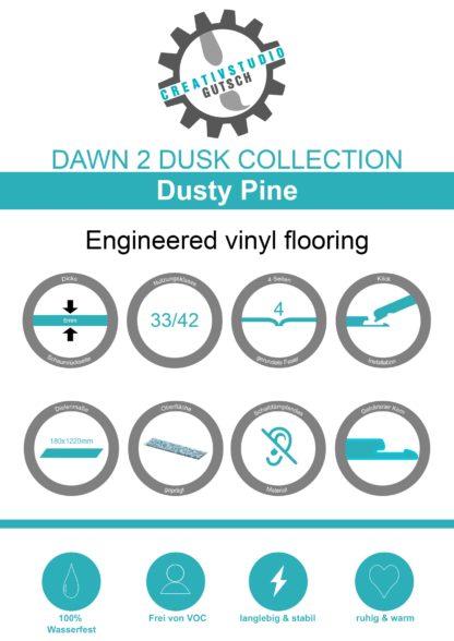 Dusty Pine Label